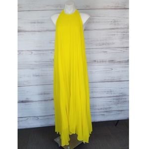 Nwt ASOS Exclusive Missguided Pleated Maxi dress